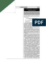Reglamento para La Subsanación - OEFA