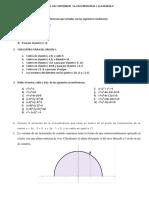 Repaso Parabola y Circunferencia