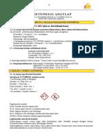 Biztonsagi Adatlap Hypo10x Kloros Fertotlenitoszer CleanCenter 20170601