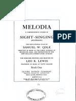 Melodia - Book 1