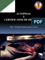 Autopsia y Certificados de Defuncion 2016