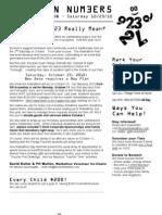 Walkathon Newsletter #2 - Aug 28 2010
