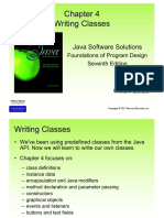 05 - Chapter 4 - Writing Classes