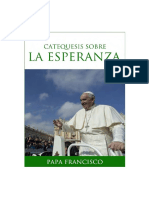 Papa Francisco Catequesis Esperanza
