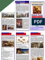 Triptico Revolucion Francesas
