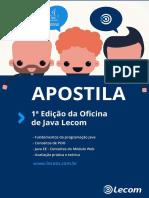 Apostila - Oficina Java