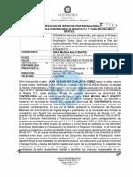 El contrato de Yara Malo con la Contraloría Distrital