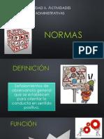 2.-Normas y Organigramas