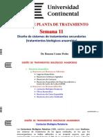 Diseño Tratamiento Secundario - Tratamiento Biológico Anaerobio 1