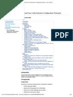 Cisco CallManager Express_Cisco Unity Express Configuration Example - Cisco Systems