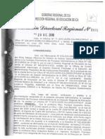 Omisos Resolucion Directoral Para Proceso Administrativo