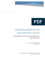 Balancin Motor Helice