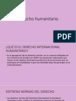 Derecho Humanitario facil para presentacion