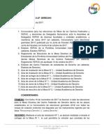 Resolución N° 6 2017-2/JF- DERECHO