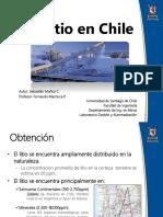 Litio en Chile Sebastián Muñoz c.