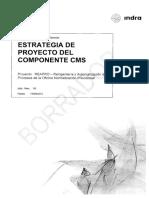 Estrategia de Proyecto Del Componente CMS