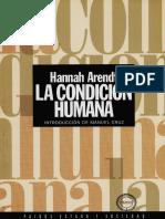 Arendt - La Condición Humana