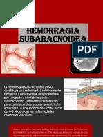 HEMORRAGIA-SUBARACNOIDEA