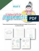 Actividades Para Infantil Cuaderno Numero 5