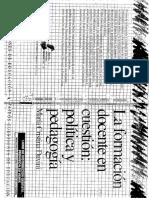 Davini - La Formación Docente en Cuestión - Política y Pedagogí