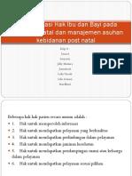 Implementasi Hak Ibu dan Bayi pada Masa Post.pptx