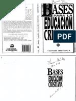 Libro de Texto Bases Para La Educacion Cristiana Hayward Armstrong (1)
