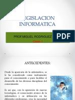 LEGISLACION INFORMATICA-CLASE1