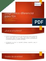 Diagnóstico Diferencial Para TEA
