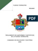 06. REGLAMENTO DE UNIFORME Y DISTINTIVO DE LA FUERZA TERRESTRE.pdf
