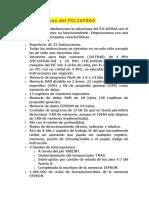Características Del PIC16F84A