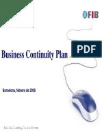Business Continuity Plan. Barcelona, Febrero de 2008