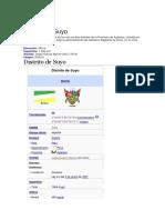 Distrito de Suyo