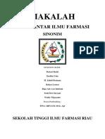 Kelompok 6 - 1B - makala - Sinonim.docx