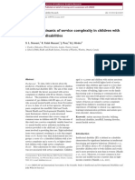 2017 - The Determinants of Service Complexity in Children With ID
