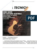 Guitarra Electrica (armado)