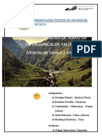 Informe Final Visita de Campo