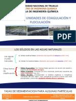 Diseño de Unidades de Coagulacion y Floculacion