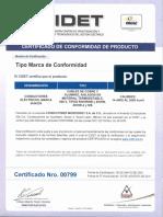 Cables Certificados