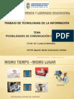 Posibilidades de Comunicación con las NNTT