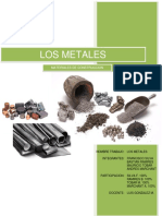 Materiales de Construccion Metales