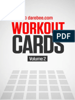 Workout Cards Vol.2