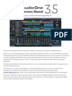 Studio One 3.5 Reference Manual