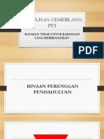 PENULISAN CEMERLANG PT3