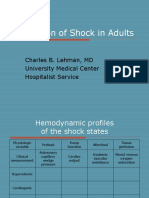 Evaluation of Shock in Adults