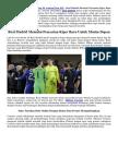 Pencarian Kiper Baru Real Madrid Berlanjut