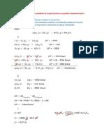 Ejercicios de fisico quimica