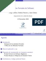 Pruebas Formales de Software