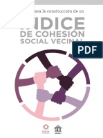 Indice de Cohesion Social Vecinal