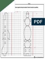 Dibujos Simetricos en Cuadricula 1
