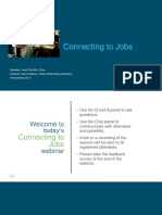 Connecting to Jobs Webinar_110817